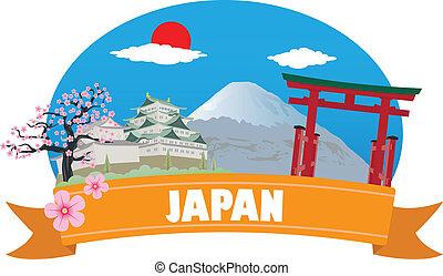 japan., tourisme voyage
