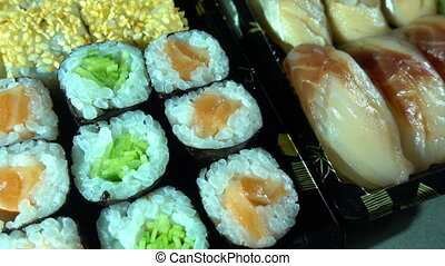 Japan Traditional Seafood Sushi