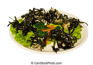 japan trditional hot food isolated