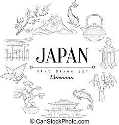 Japan Vintage Sketch