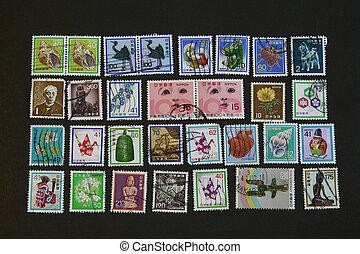 Japan Vintage Stamps