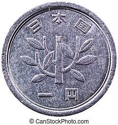 Japanese 1 Yen Silver Coin