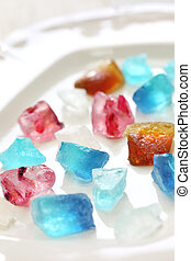 Japanese agar jelly sweet - Japanese traditional...