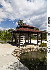 Japanese arbor