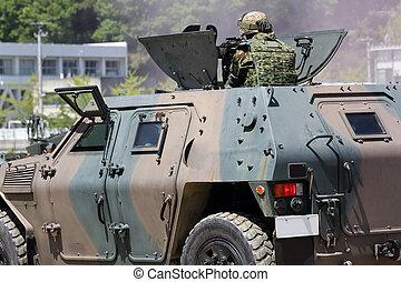Japanese armored vehicle