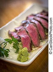 Japanese Beef Tataki