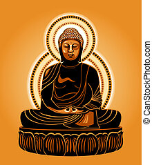 Japanese Buddha - Buddha Amitabha (The Buddha of Infinite...