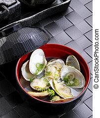 clam soup - japanese clam soup