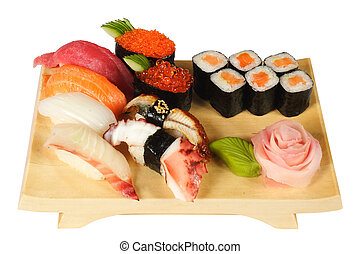 Japanese cuisine - Allsorts from seafood in the Japanese ...