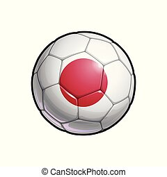 Japanese Flag Football - Soccer Ball