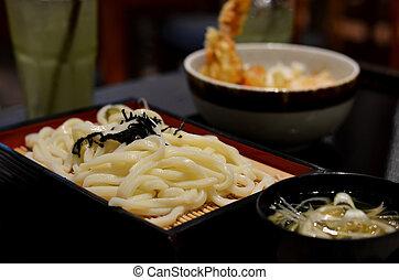 japanese food - Japanese cuisine, Cold Udon noodles for ...
