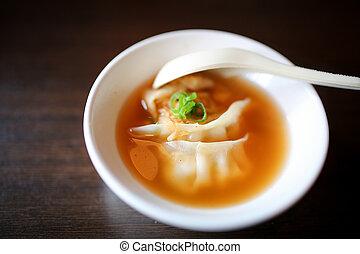 Japanese foods include sushi, nigiri, sashimi, served on ...