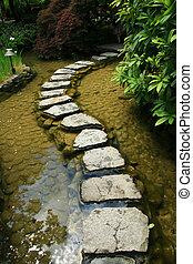 Japanese Garden - Butchart Gardens, Victoria, BC, Canada - ...