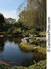 Japanese garden %u2013 Earl Burns Miller
