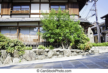 Japanese house in Kyoto Japan - Japanese house in Kyoto, ...