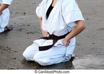 Martial arts greeting japanese karate martial arts m4hsunfo