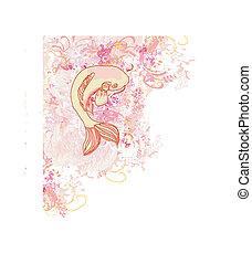 japanese koi background - japanese koi...