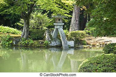 Japanese lake