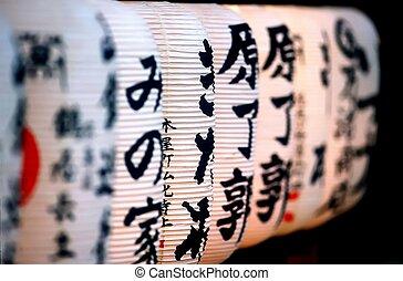 Japanese lanterne perspec - Japanese paper lanterne light...