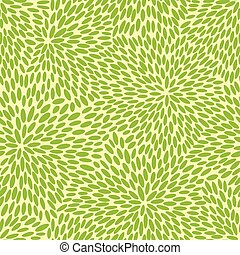 Japanese leaves pattern