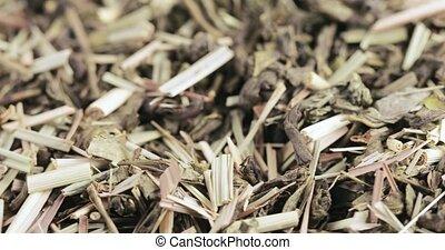 Japanese lemongrass bulk - Mixture of green Lapsany Chinese...