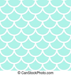 Japanese marine ornament. Seamless pattern. Fish scales....