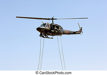 Japanese military helicopter