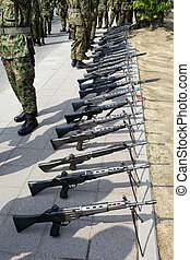 Japanese military rifle