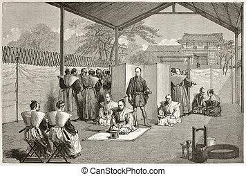 Hara Kiri - Japanese nobleman sentenced to suicide (Hara...