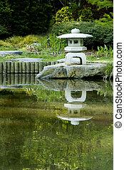 japanese pagoda zen garden