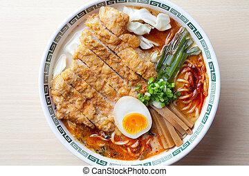 Japanese Ramen - food