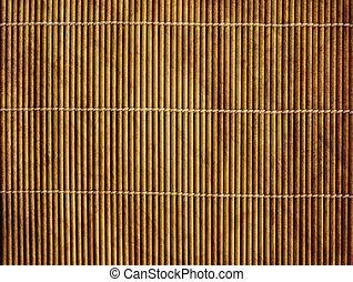 Japanese reed mat - Background - volumetric Japanese reed...