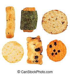 Japanese Rice Cracker Selection