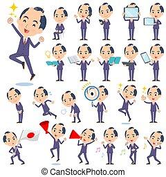 japanese samurai Businessman_exercise