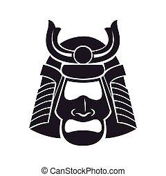 japanese samurai mask warrior
