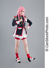 Japanese school uniform - Girl dressed in Japanese school...