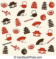 Japanese seamless pattern 2