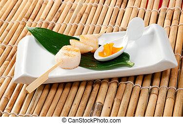 Japanese Skewered Scallop
