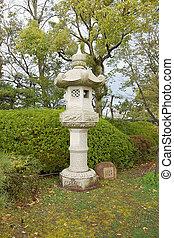 Japanese stone lantern