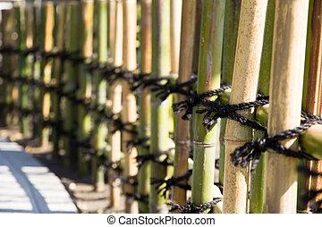 japanese style Bamboo fences