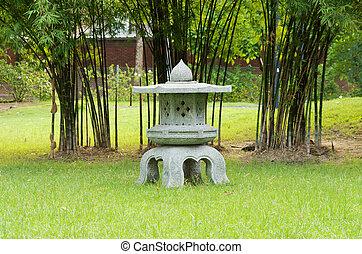 Japanese style garden.