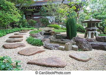 Japanese style garden