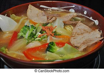 Ramen Soup - Japanese style Ramen Soup