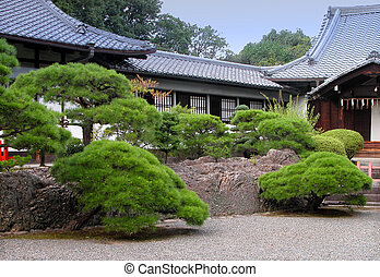 Japanese Temple - A very traditional Japanese temple and its...