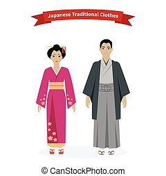 Japanese Traditional Clothes People - Japanese traditional...