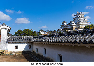 Japanese Traditional Himeiji Castle