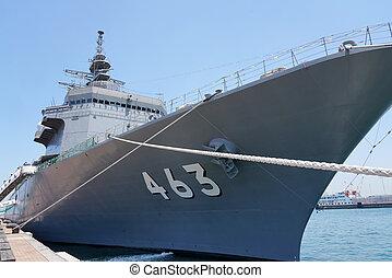 Japanese Uraga-class minesweeper ship