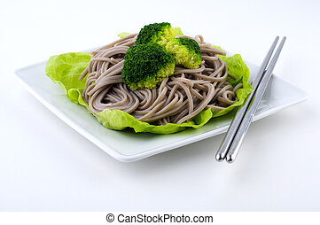 Soba Noodles - Japanese Vegetarian Soba Noodles with...