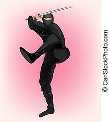 Japanese warrior samurai