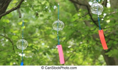 Japanese wind chime - This is called huurin with a Japanese...